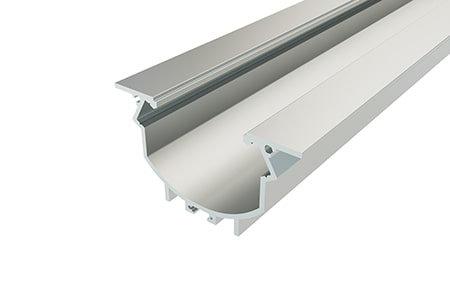 Профиль врезной алюминиевый LPV-4889-2 Anod для светодиодной ленты
