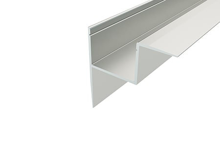 Профиль накладной алюминиевый NKU-4543-2 Anod для светодиодной ленты