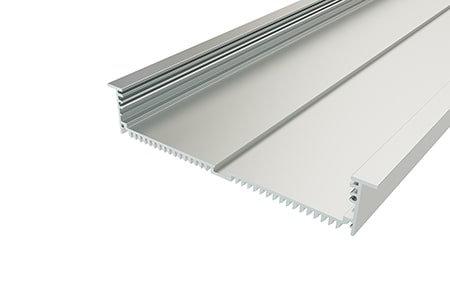 Профиль врезной алюминиевый LPV-32180-2 Anod для светодиодной ленты