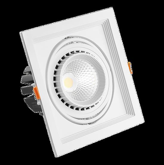 Встраиваемый карданный светодиодный светильник AL Kardan от 12 W до 50W