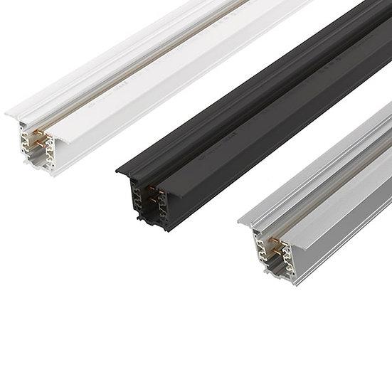 Встраиваемый шинопровод Nordic Aluminium XTSF трехфазный для трековых систем