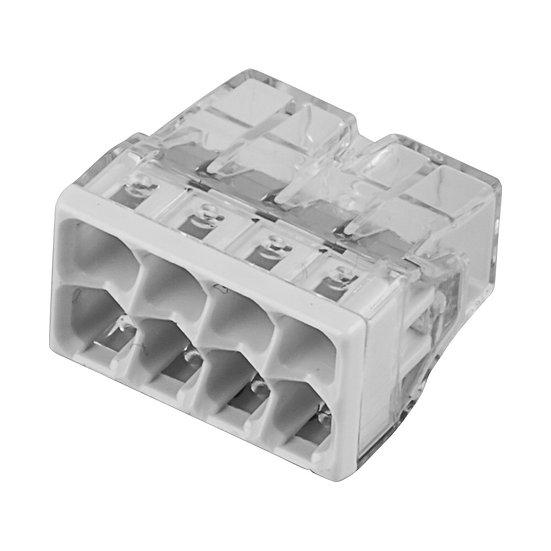 Клеммы для распределительных коробок 8-проводные