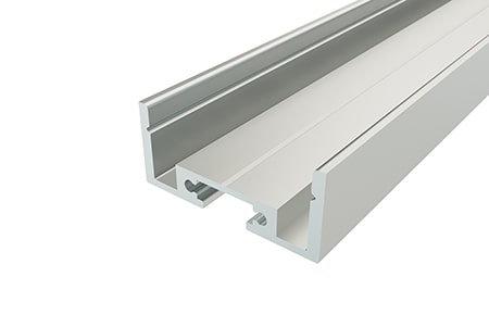 Профиль накладной алюминиевый LP-1227-2 Anod для светодиодной ленты