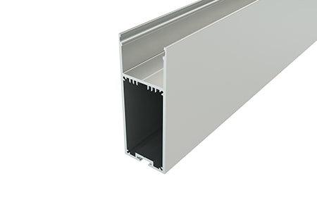 Профиль накладной алюминиевый LP-9035-2 для светодиодной ленты