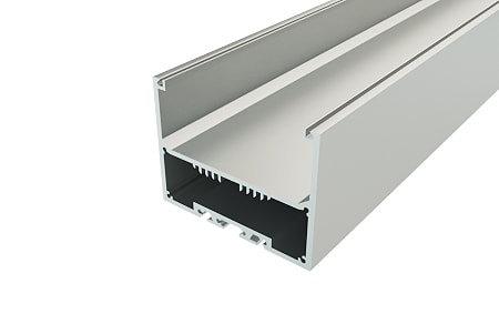 Профиль накладной алюминиевый LP-7050-2 Anod для светодиодной ленты