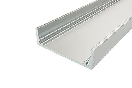 Профиль накладной алюминиевый LP-1035-2 Anod для светодиодной ленты