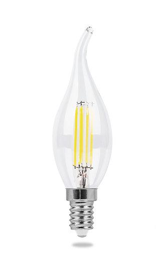 Лампа светодиодная E14 Свеча на ветру