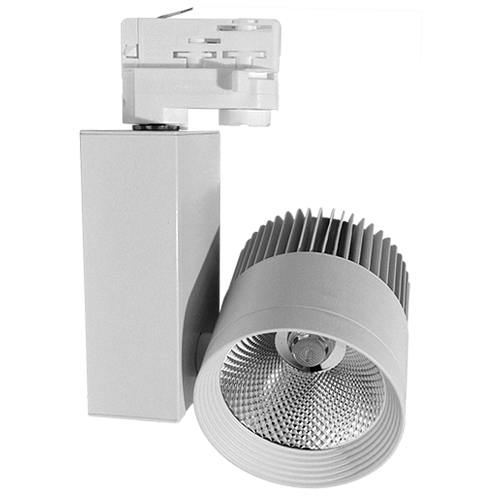 Трековый светильник AL BETELGEUSE 40 W для акцентного освещения магазинов