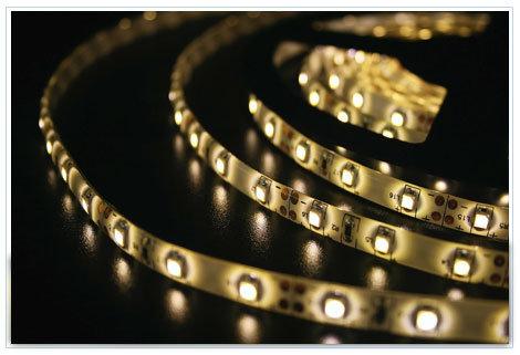 Светодиодная лента SMD 3528 IP65 60 LED 12 V Epoxy желтый