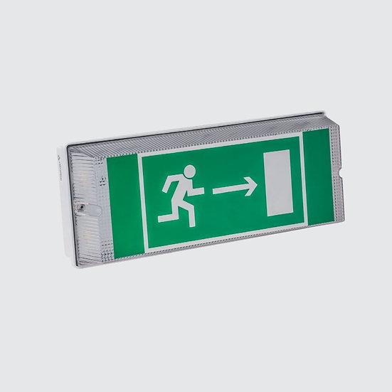 Эвакуационный аккумуляторный светильник Universal IP65 (автономно до 8 ч) аварийное освещение