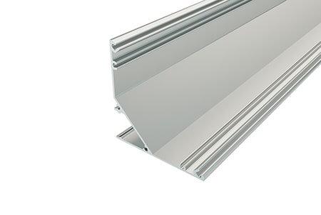 Профиль накладной алюминиевый LPU-4747-2 Anod для светодиодной ленты