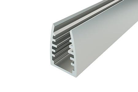Профиль для стеклянных полок LPG-1318-2 Anod