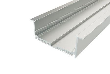 Профиль врезной алюминиевый LPV-3288-2 Anod для светодиодной ленты