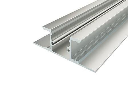 Профиль накладной алюминиевый LPN-4916-2 Anod для светодиодной ленты