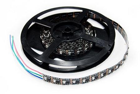 Светодиодная лента 5050 DMX 5V-200LED IP33