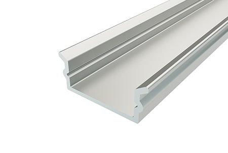 Профиль накладной алюминиевый LP-0616-2 Anod для светодиодной ленты