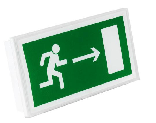 Аварийные и эвакуационные светильники и таблички
