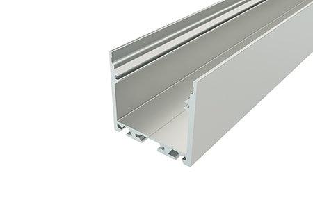 Профиль накладной алюминиевый LP-3535-2 для светодиодной ленты