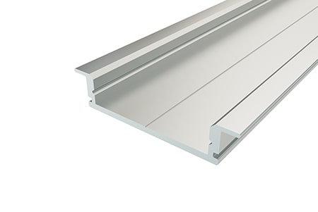 Профиль врезной алюминиевый LPV-0734-2 Anod для светодиодной ленты