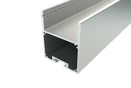 Профиль накладной алюминиевый LP-4034-2 Anod для светодиодной ленты