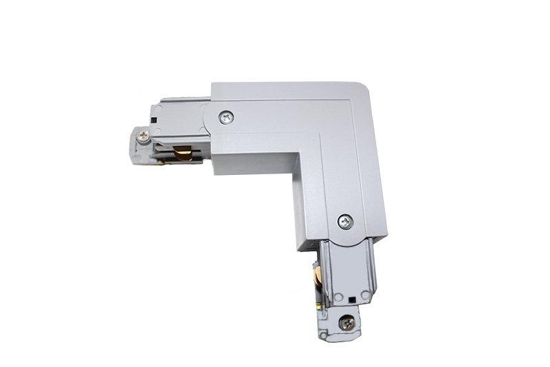 Угловое соединение для трехфазного трекового шинопровода