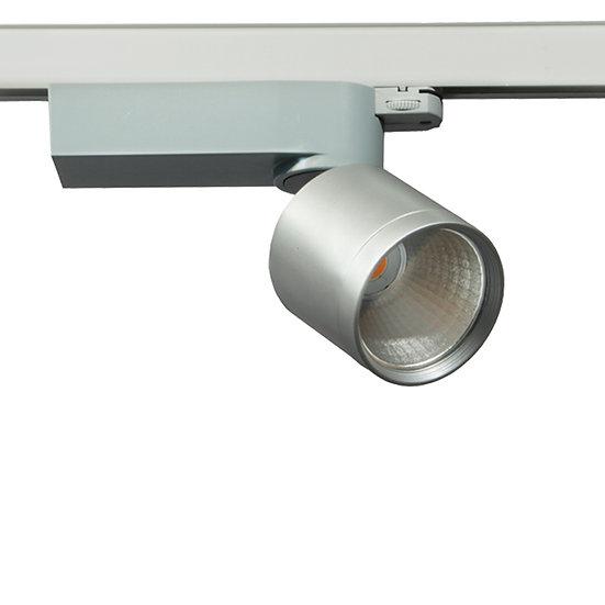 Трековый светодиодный светильник Colt Mini Standart для выпечки серый