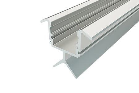 Профиль для перил алюминиевый LPV-2223-2 Anod для светодиодной ленты