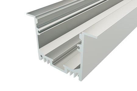 Профиль врезной алюминиевый LPV-3250-2 для светодиодной ленты