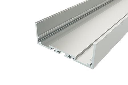 Профиль накладной алюминиевый LP-2774-2 Anod для светодиодной ленты
