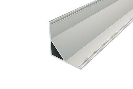 Профиль угловой алюминиевый LPU-3030-2 Anod для светодиодной ленты