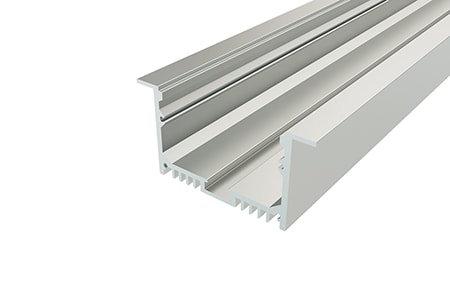 Профиль врезной алюминиевый LPV-3263-2 Anod для светодиодной ленты