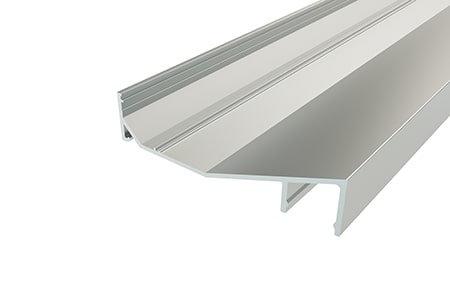 Профиль для карниза накладной алюминиевый LPK-1675-2 Anod для светодиодной ленты