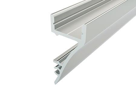 Профиль накладной алюминиевый NS-1636-2 Anod для светодиодной ленты
