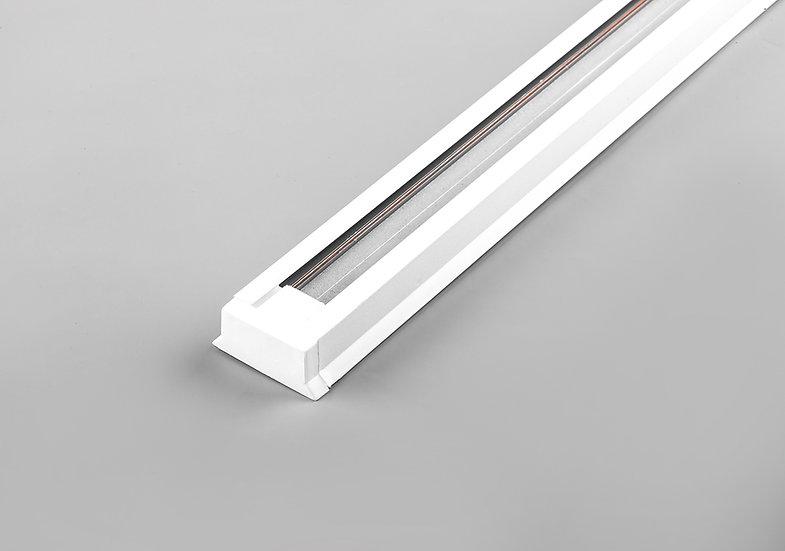 Шинопровод AL однофазный для трековых светильников белый