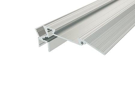 Профиль для ступеней алюминиевый PDS-2879-2 Anod для светодиодной ленты