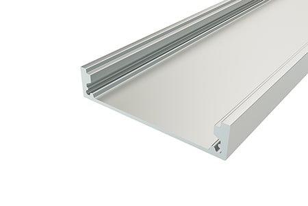 Профиль накладной алюминиевый LP-1050-2 Anod для светодиодной ленты