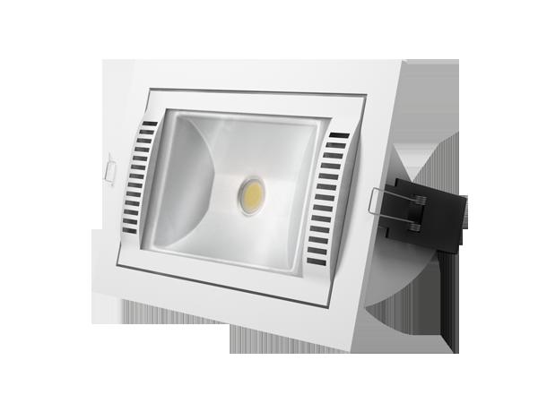 Встраиваемый светодиодный светильник Magnifico для освещения магазинов и офисов