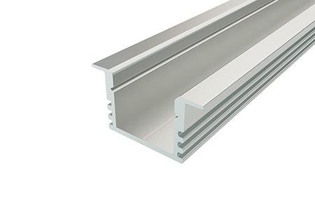 Профиль накладной алюминиевый LPV-1222-2 Anod для светодиодной ленты класса премиум.