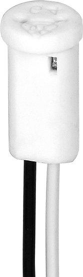 Патрон керамический для галогенных ламп 230V G4.0, LH20 с проводом 150 мм