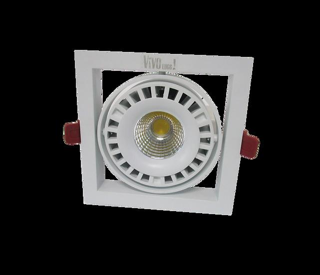 Встраиваемый карданный светодиодный светильник Glissando LED 44 W