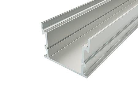Профиль накладной алюминиевый LP-2635-2 Anod для светодиодной ленты