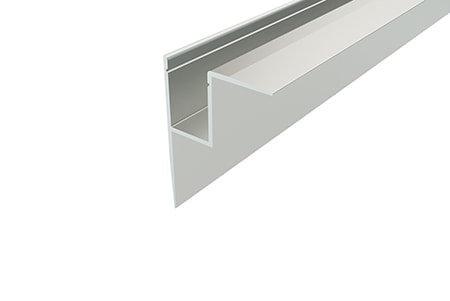Профиль накладной алюминиевый NKU-4532-2 Anod для светодиодной ленты