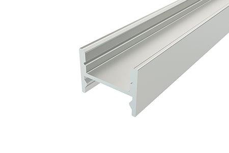 Профиль накладной алюминиевый LP-1216-2 Anodдля светодиодной ленты.