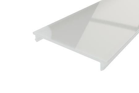 Рассеиватель матовый поликарбонат LRM-44-2 для алюминиевого профиля