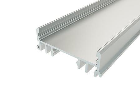 Профиль накладной алюминиевый LSS-1236-2 Anod для светодиодной ленты