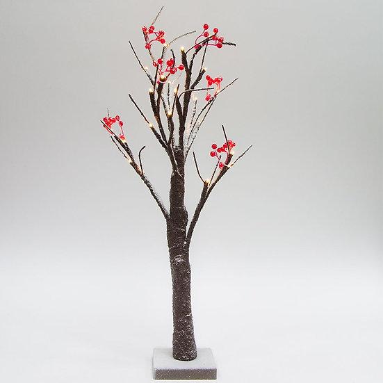 Светодиодное дерево с подсветкой работает от батареек