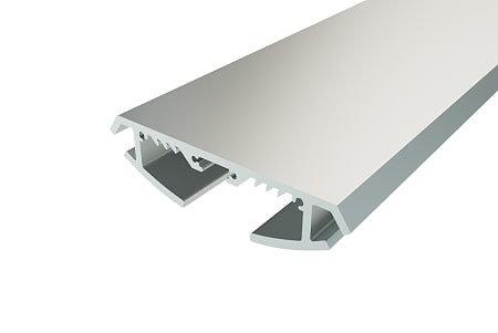Профиль накладной алюминиевый LP-1970-2 Anod для светодиодной ленты