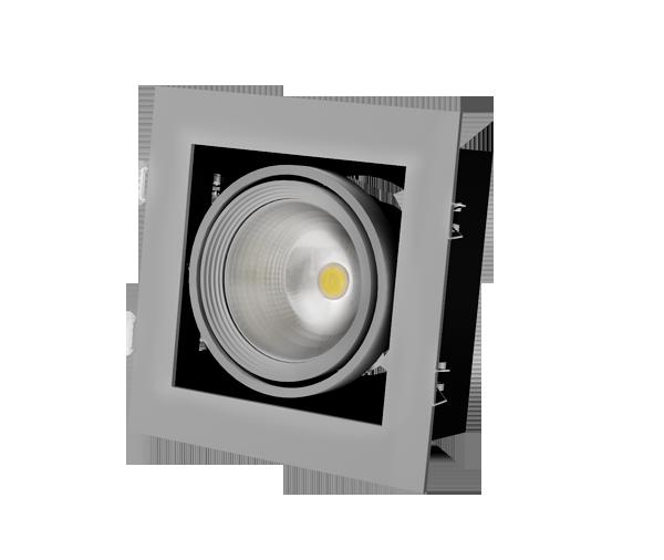 Встраиваемый светодиодный карданный светильник Grazioso 1