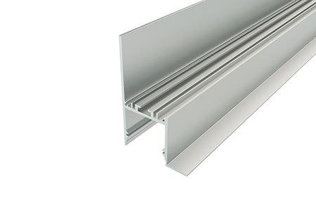 Профиль накладной алюминиевый NKU-7650-2 Anod для светодиодной ленты