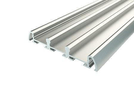 Профиль накладной алюминиевый тройной LP-0959-2 Anod для светодиодной ленты